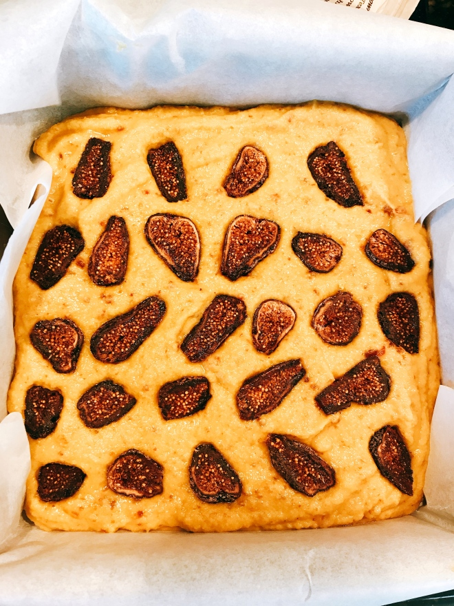 Lemon Fig Cake Batter (Grain Free)