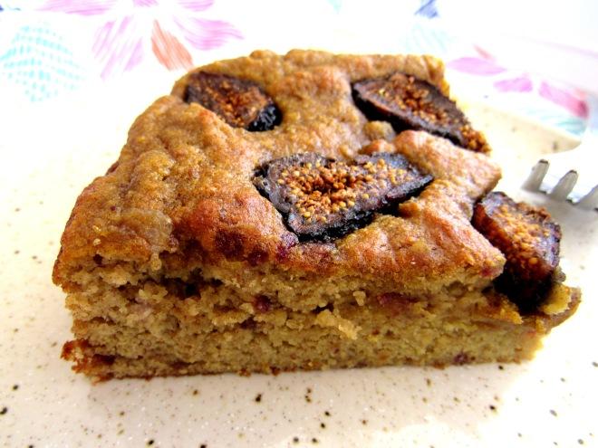 Lemon Fig Cake (Coconut Flour)