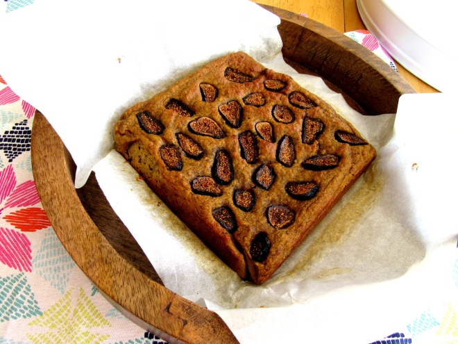 Lemon Fig Cake Grain Free