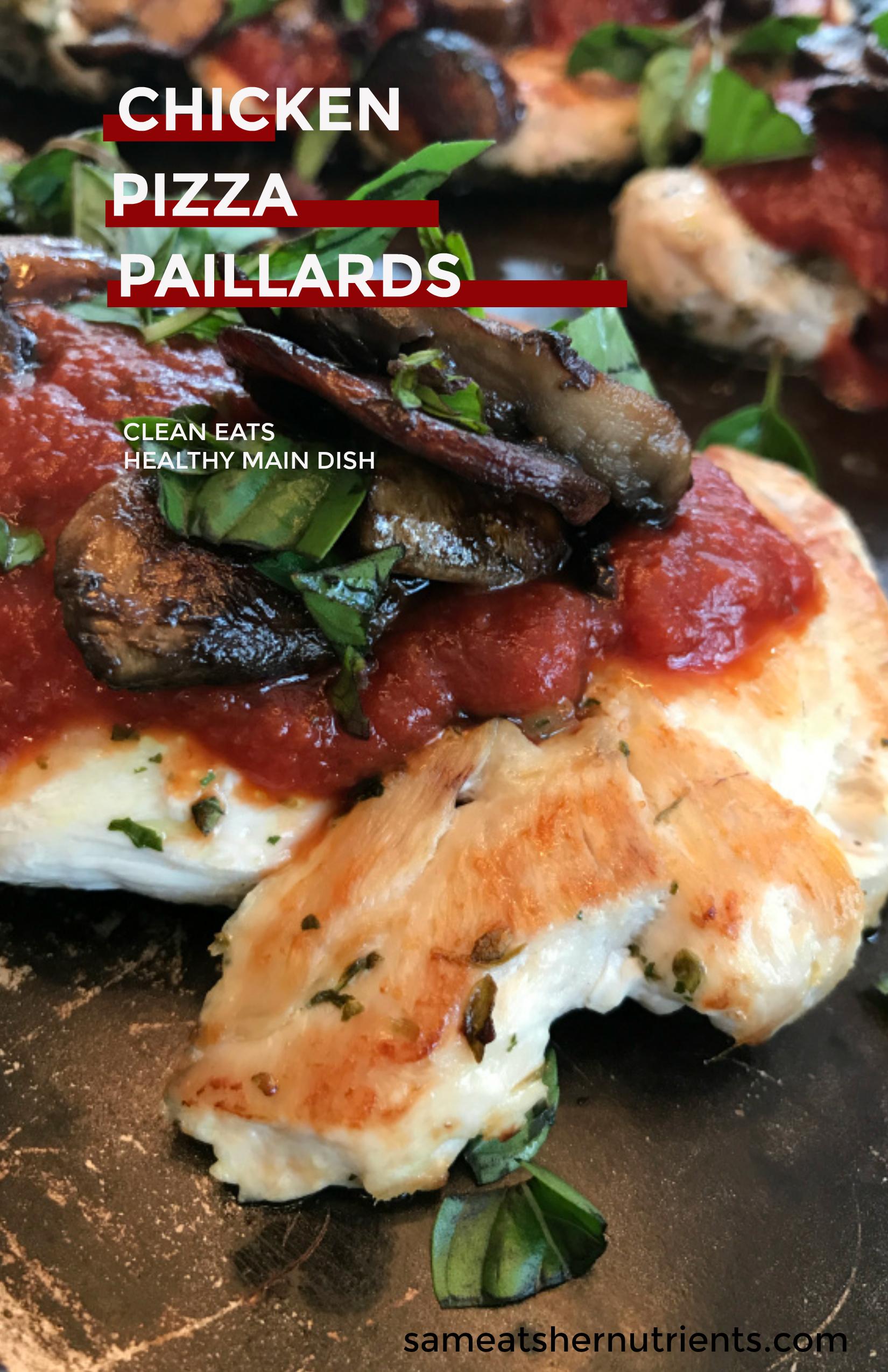 Chicken Pizza Paillards