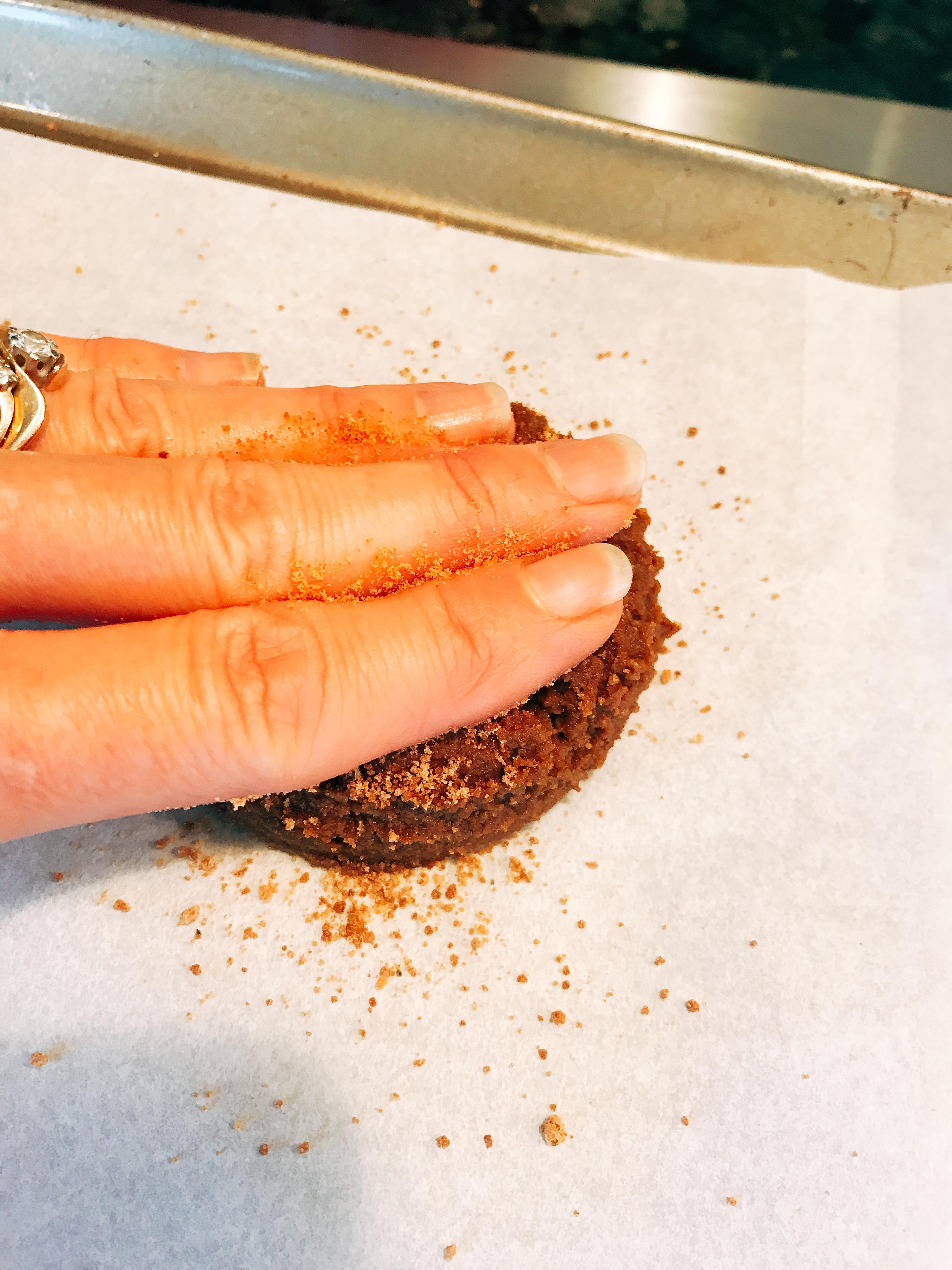 Pressing Farmhouse Jumbo Molasses Cookies