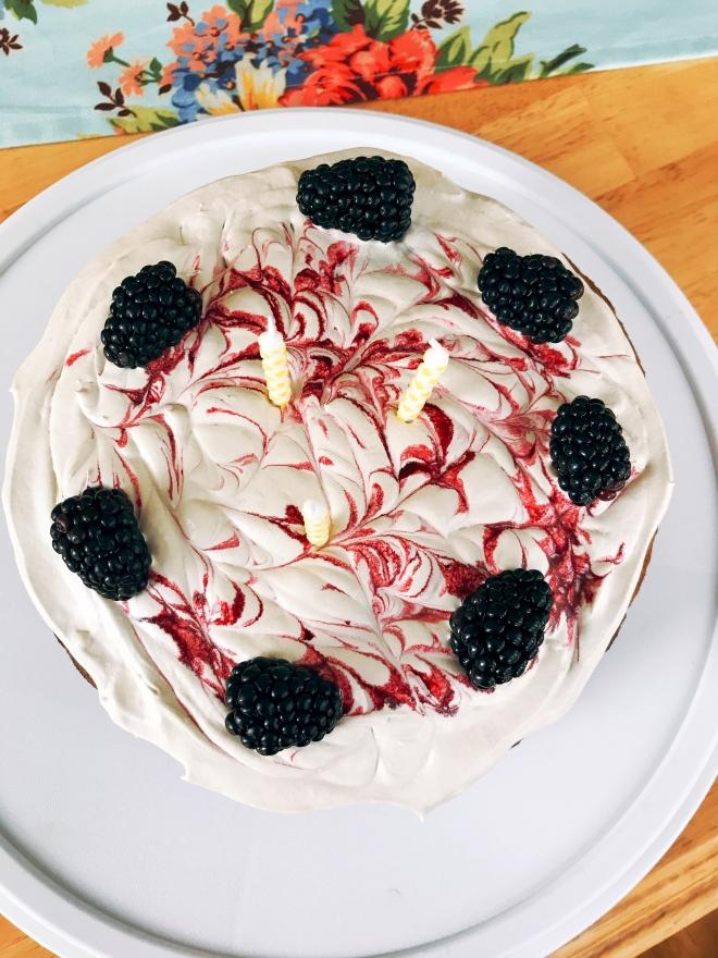 Grain Free Birthday Spice Cake