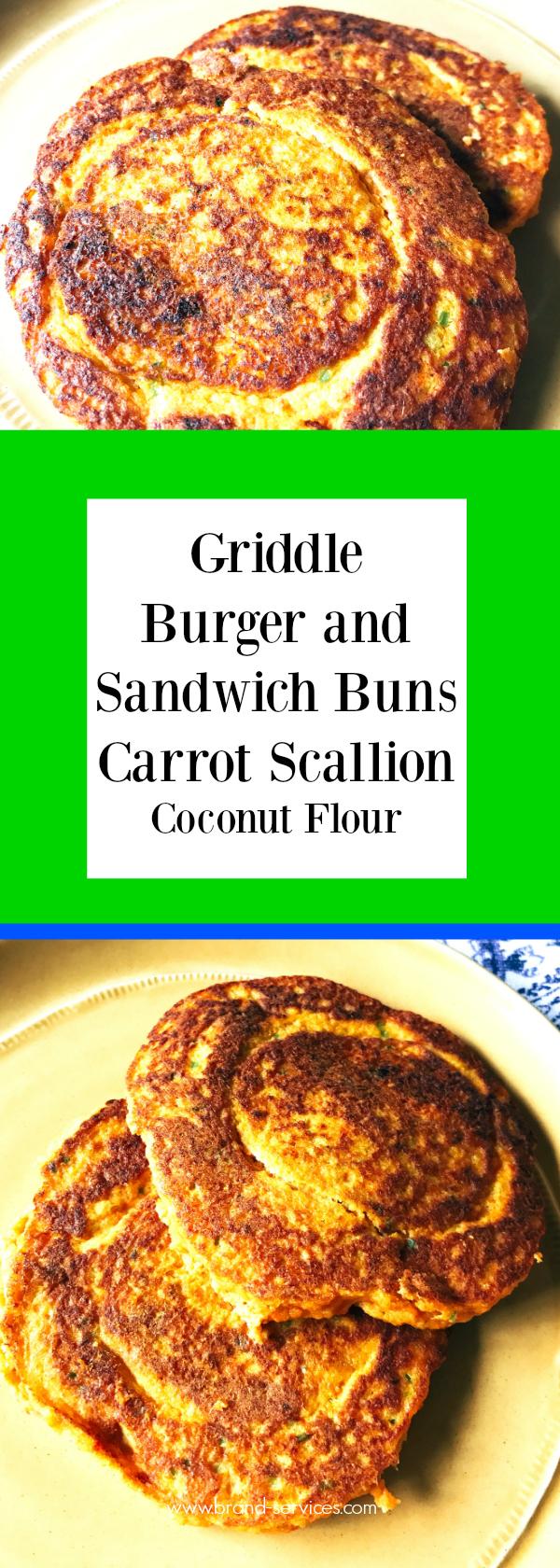 Griddle Burger and Sandwich Buns