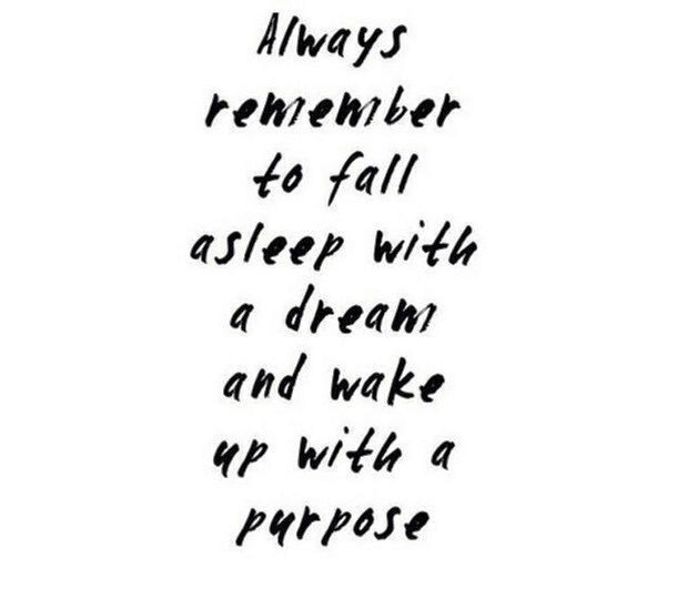 Dreams and Purpose