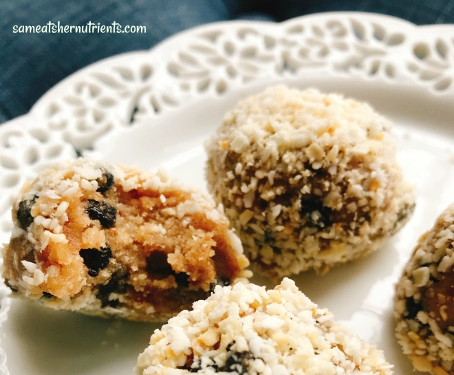 Blueberry Coconut Balls for Healthy Snack Attacks