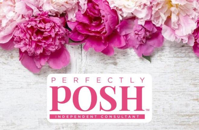 perfectly Posh facebook flowers