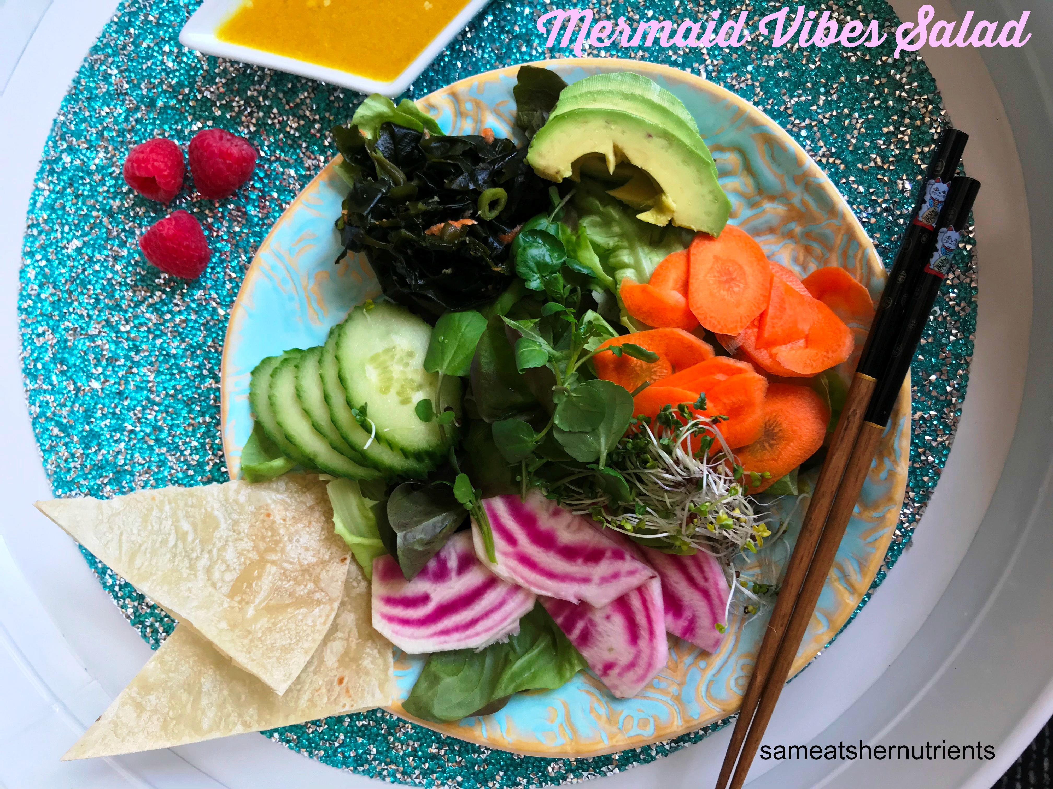Mermaid Vibes Gluten Free Salad