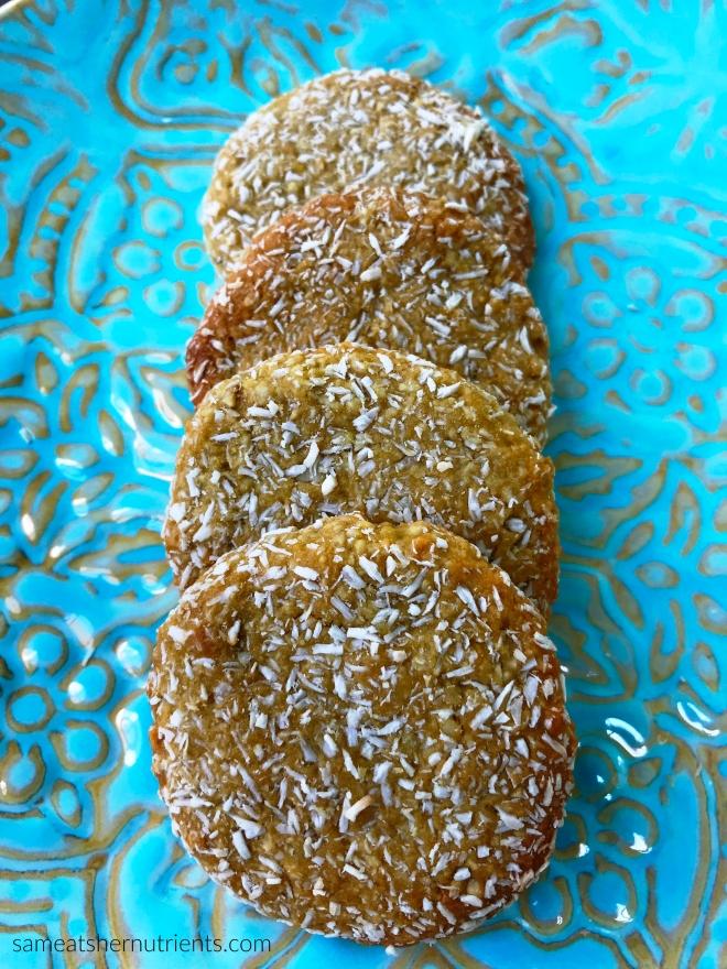 Cashew Lemon Gluten Free Cookies