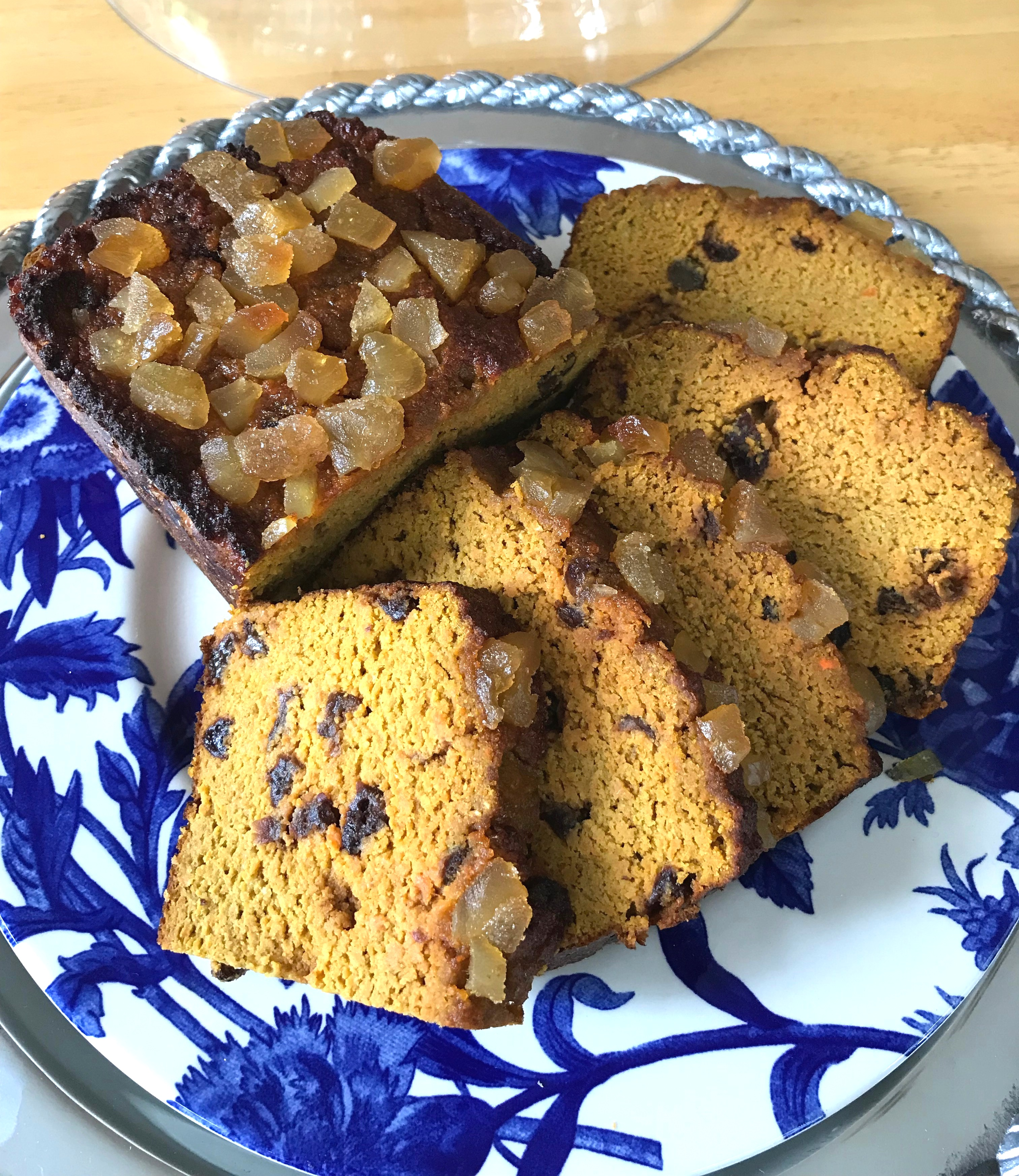 Carrot Cake Quick Bread Loaf