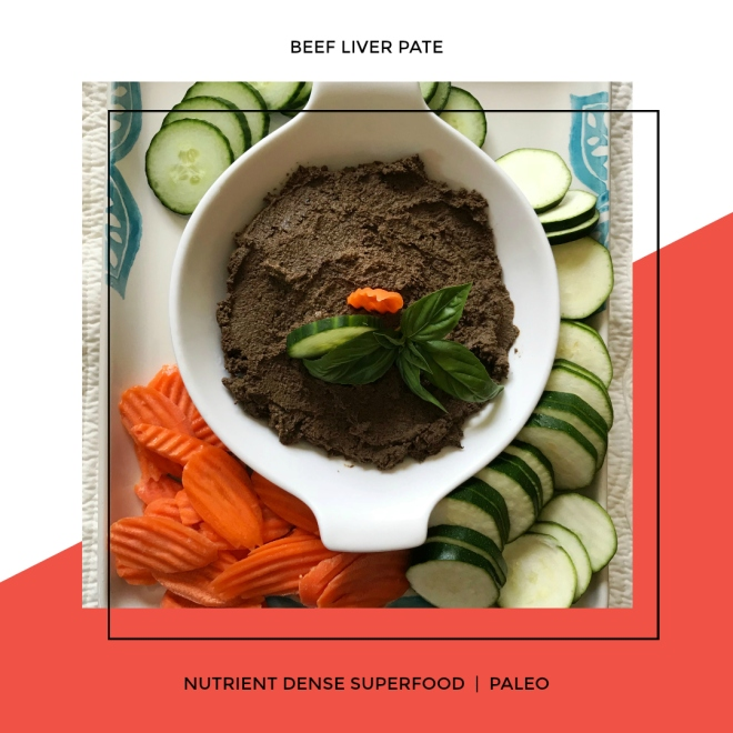 Nutrient Dense Superfood, Beef Liver Pate