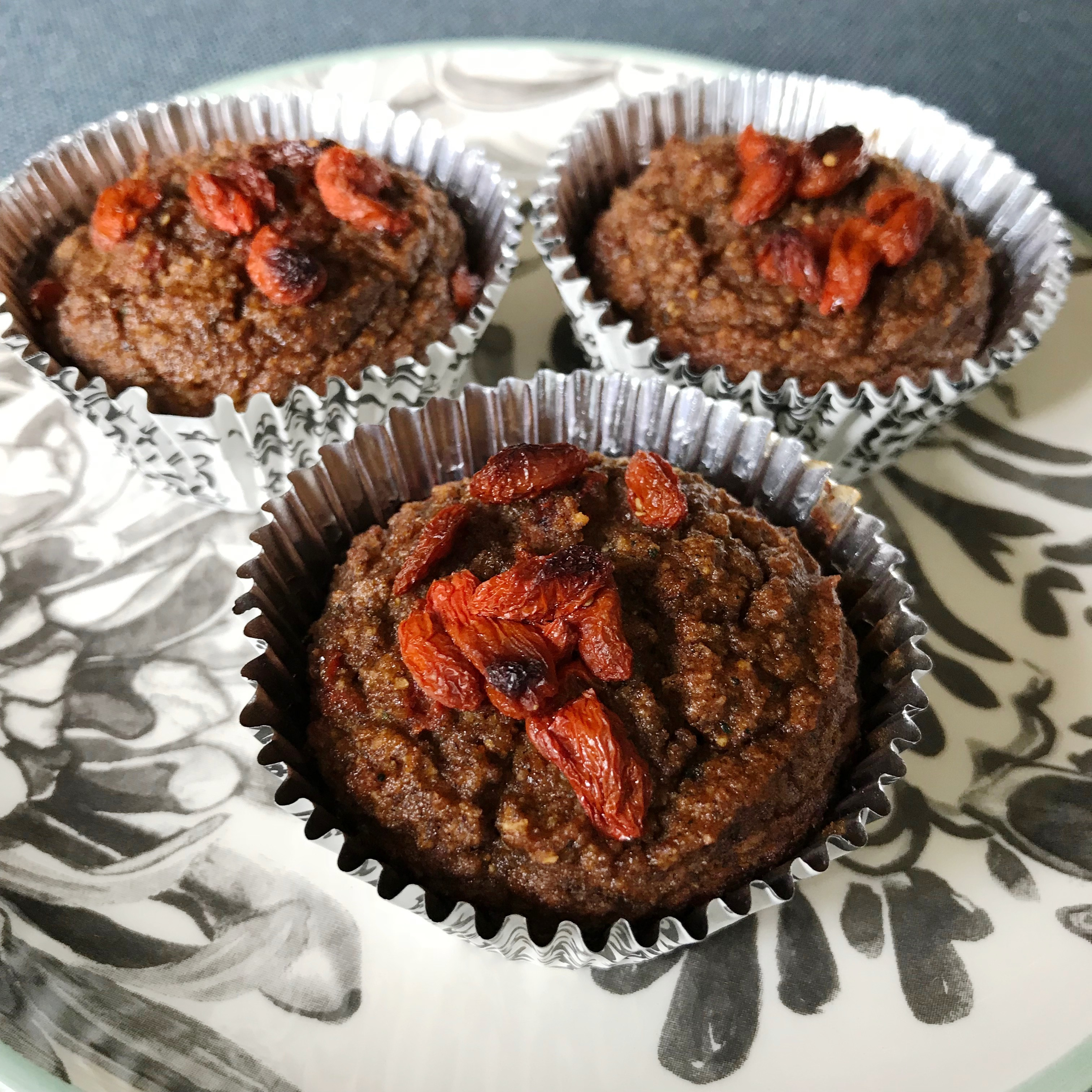 goji superfood muffins