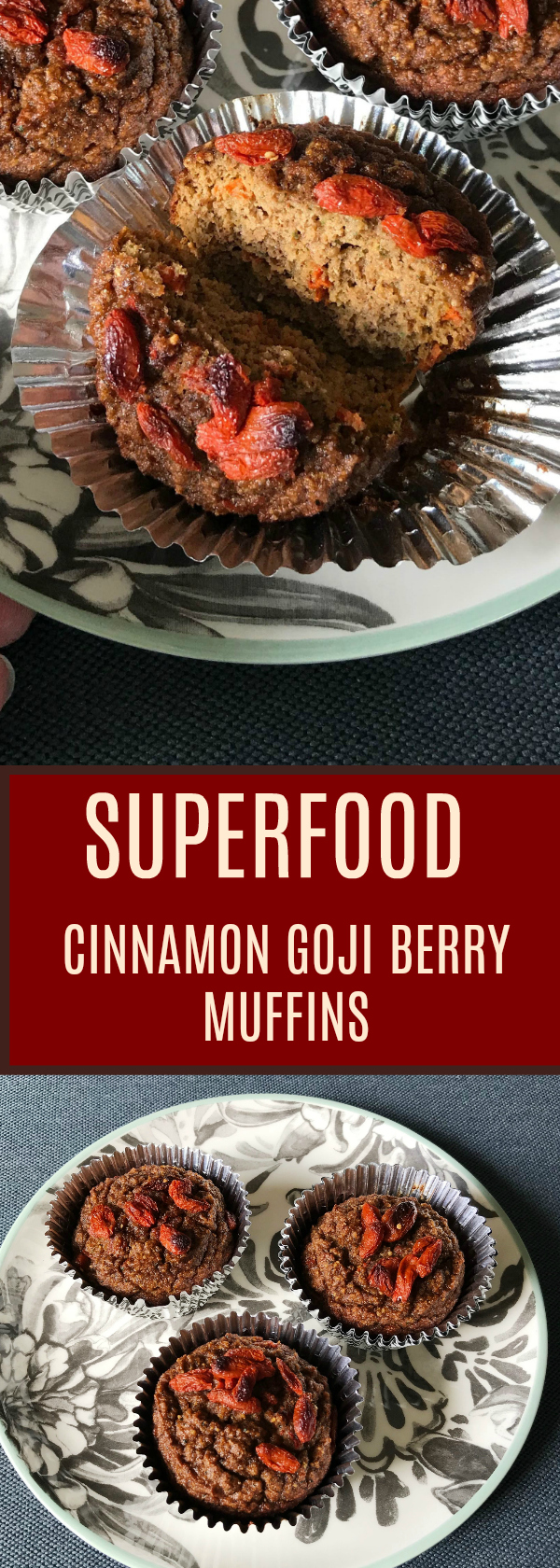 Grain Free Superfood Muffins! Paleo, Dairy Free deliciousness!