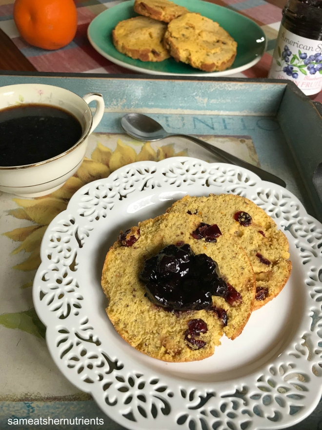 Cranberry Orange English Muffins Gluten Free Dairy Free