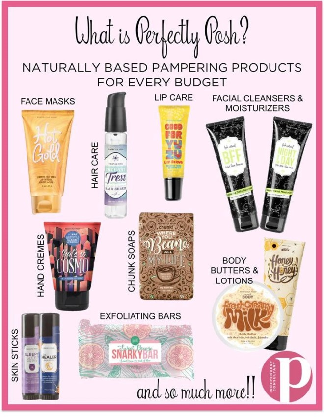 what is perfectly posh graphic