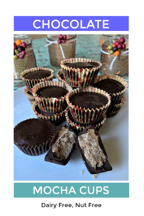 Dairy Free Nut Free Chocolate Mocha Cups