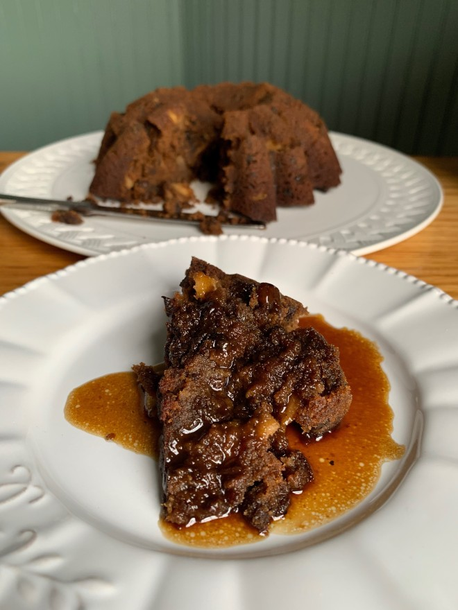 Gluten Free Plum Pudding with Hard Sauce