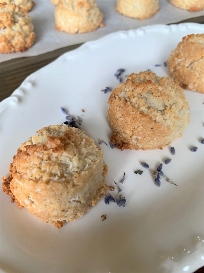 Honey Lavender Macaroons Gluten Free