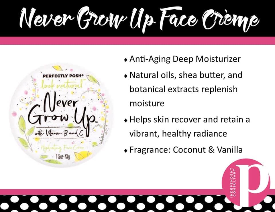 Never Grow Up Face Creme