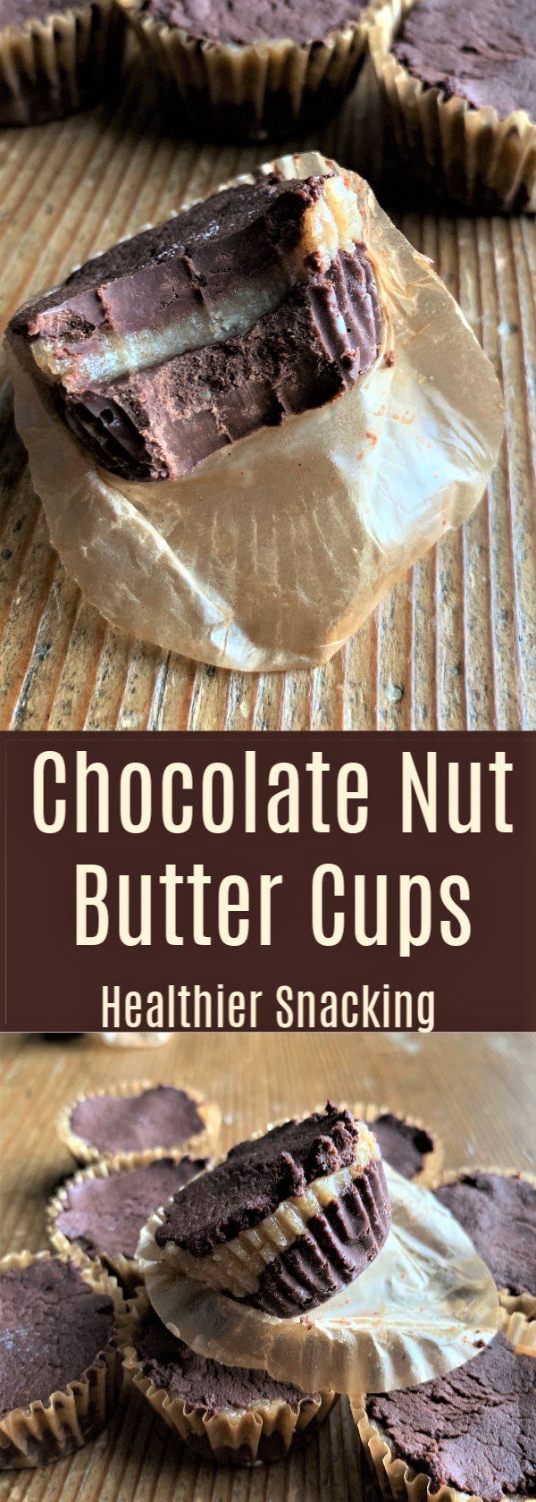 Chocolate Nut Butter Cups! These are creamy and delicious with ingredients you can feel good about. Dairy Free, Gluten Free, Paleo, Vegan