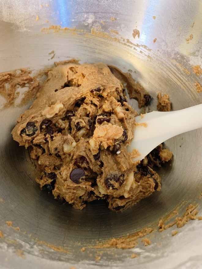 Banana Flour Cookie Dough