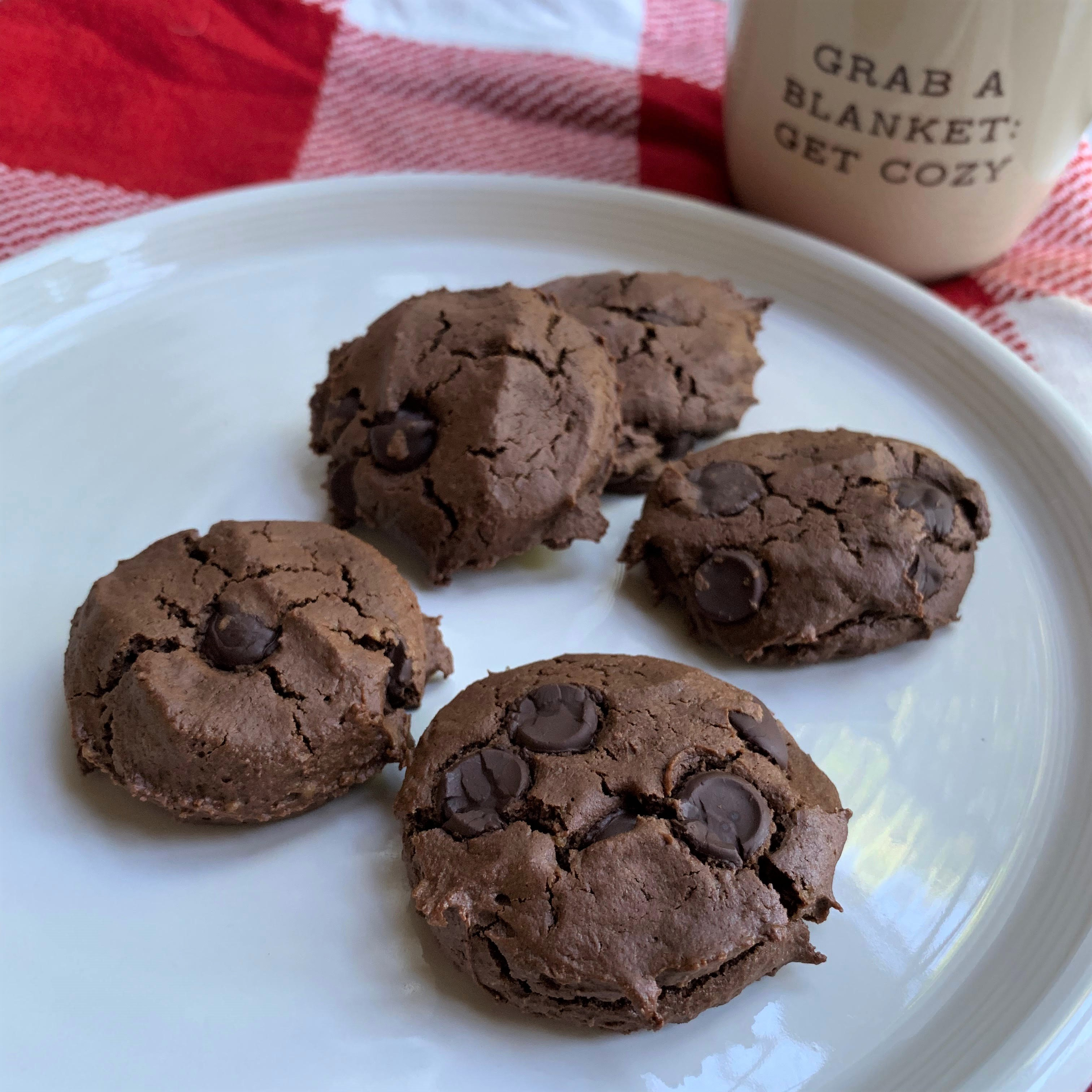 Chocolate Chocolate Cookies 4