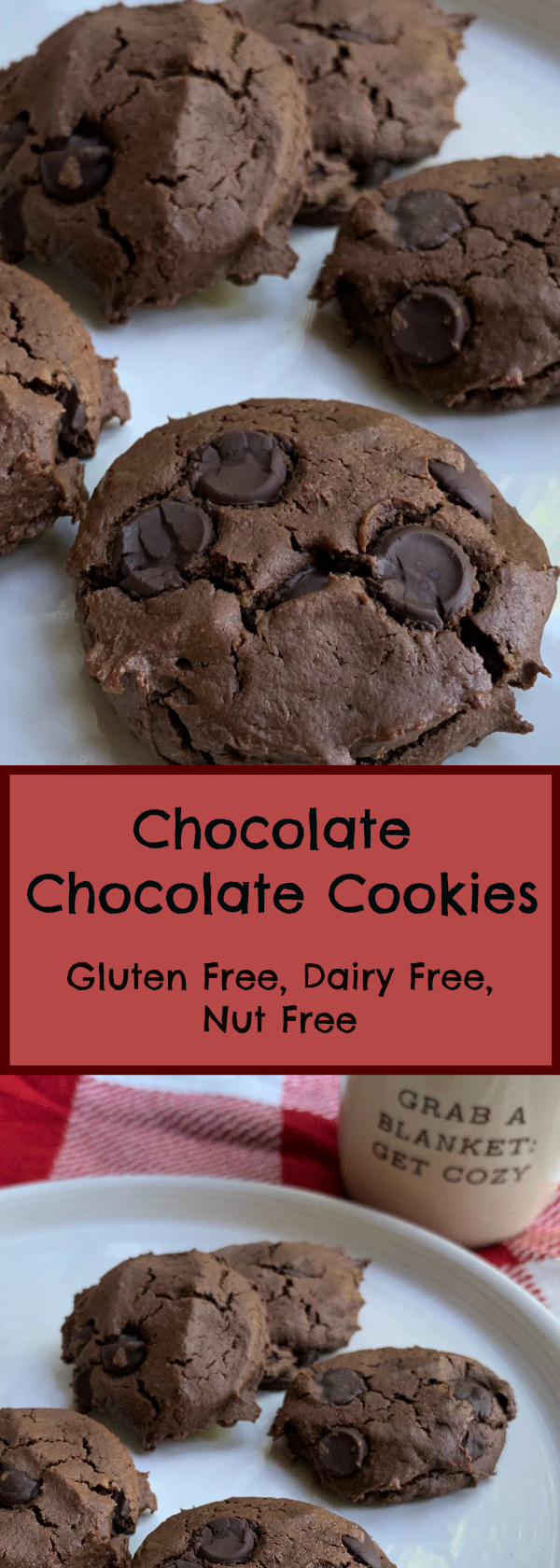 Chocolate Chocolate Cookies Gluten, Dairy and Nut Free