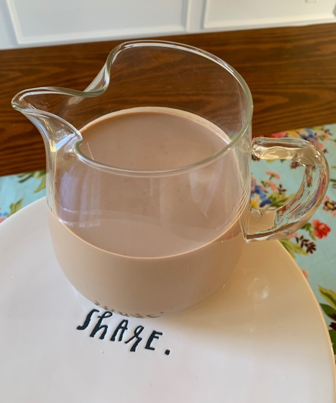 Chocolate Mint Nut Milk 3