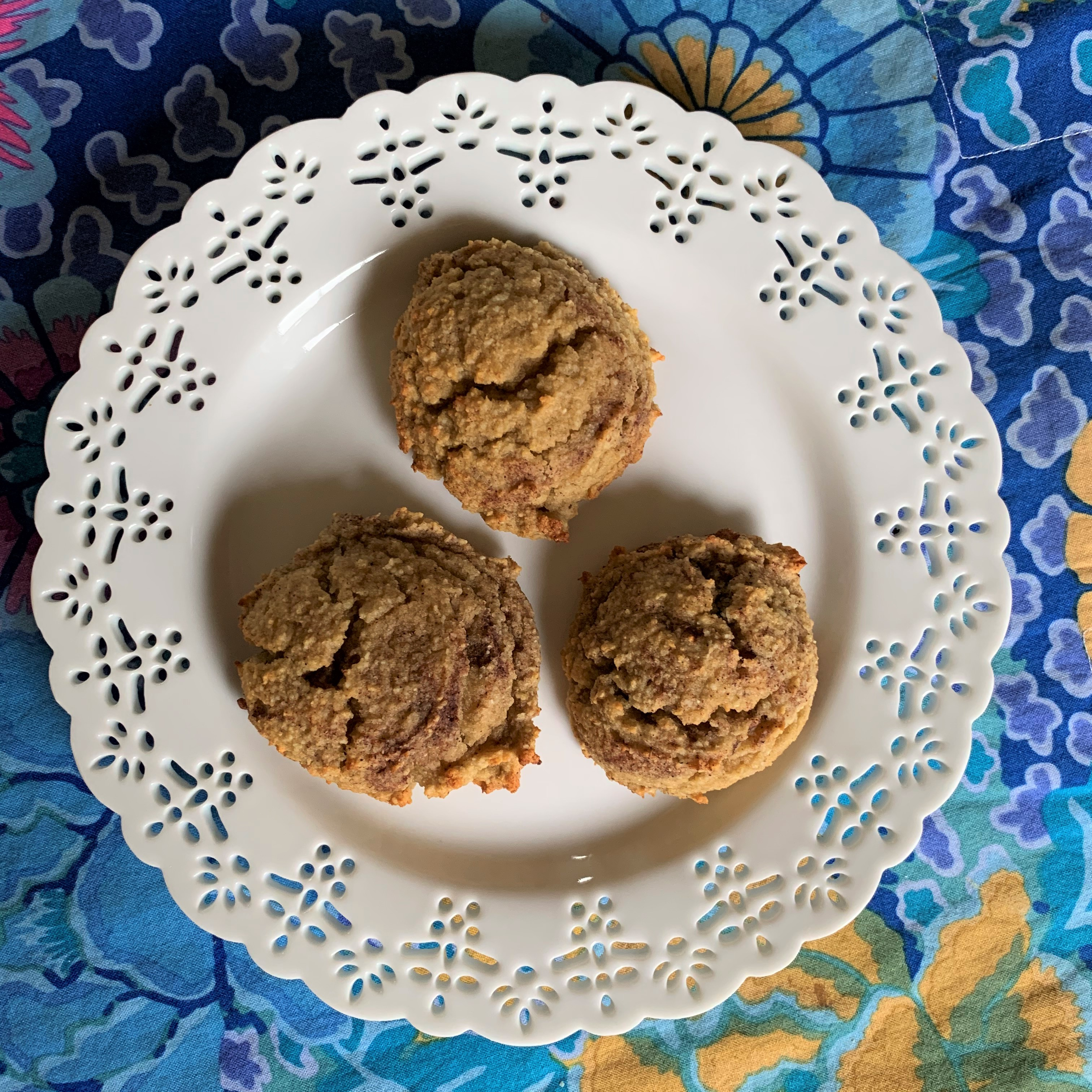 Cinnamon Swirl Banana Cookies 1