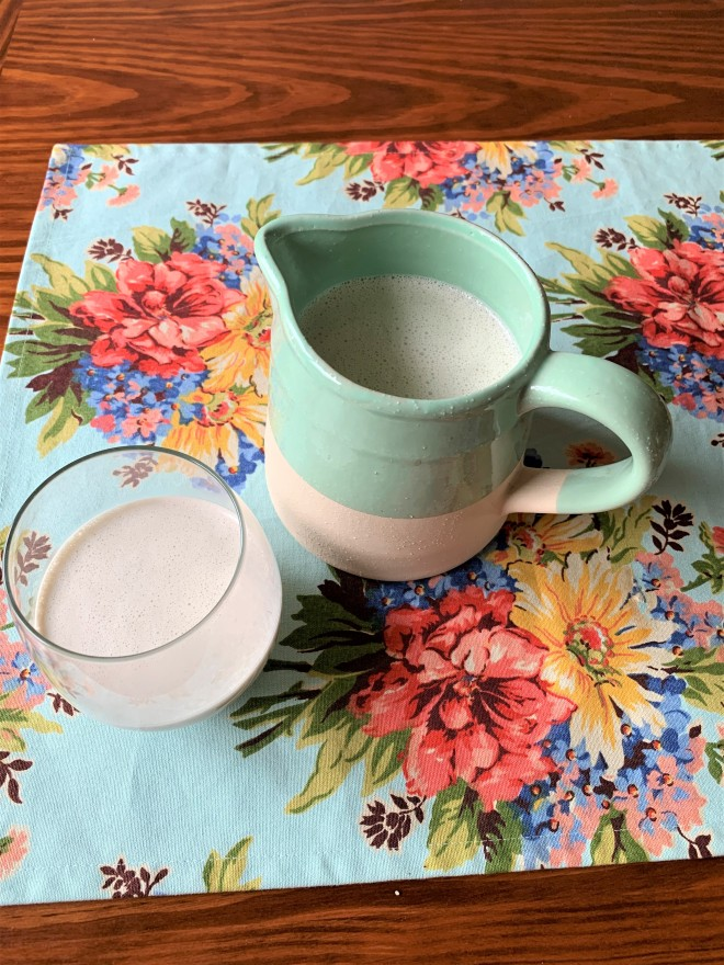Creamy Sunflower Seed Milk