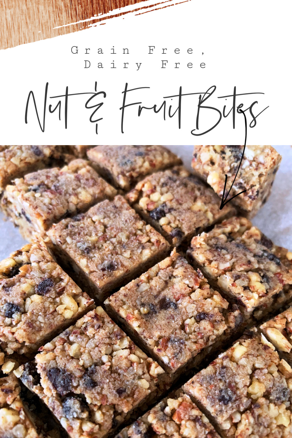 Grain Free Dairy Free Delicious Nut and Fruit Freezer Bites